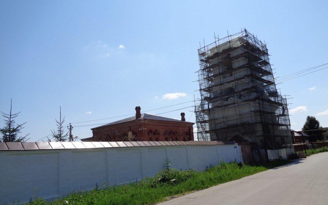Реставрация колокольни