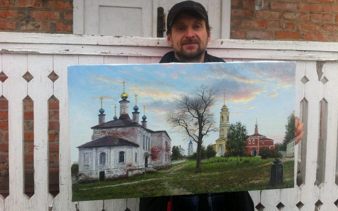Картина о монастыре