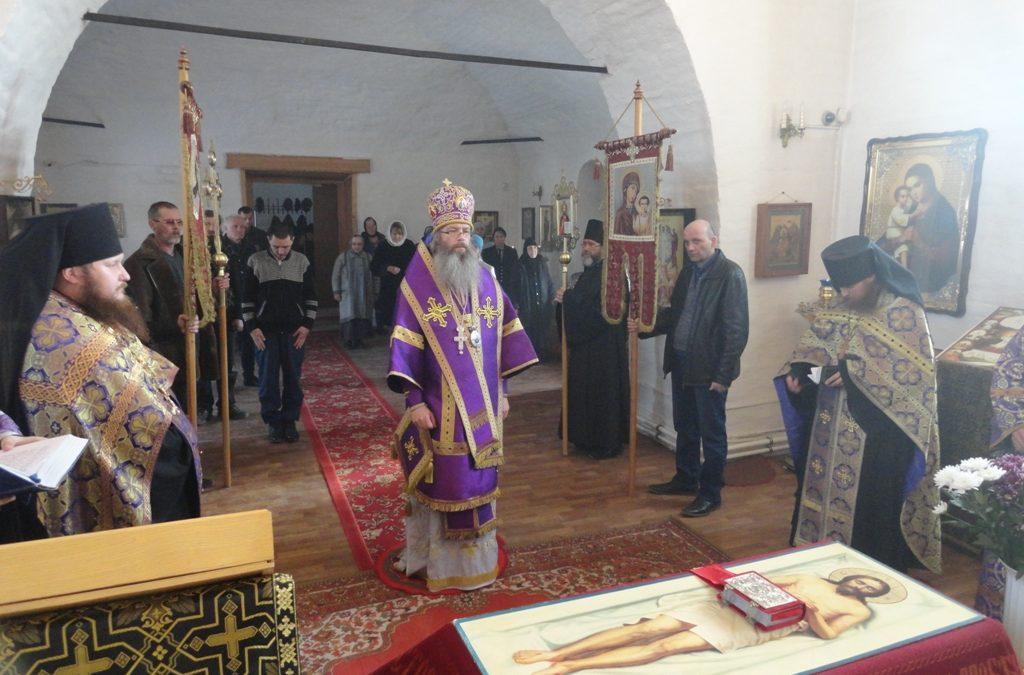 Архиериейское богослужение и погребение Плащаницы