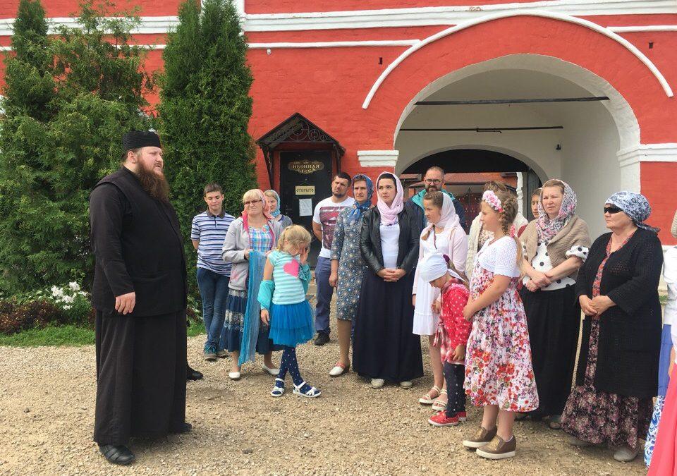 Гости из Ясногорска