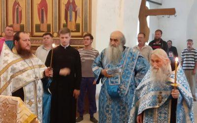 Духовник Патриарха посетил монастырь
